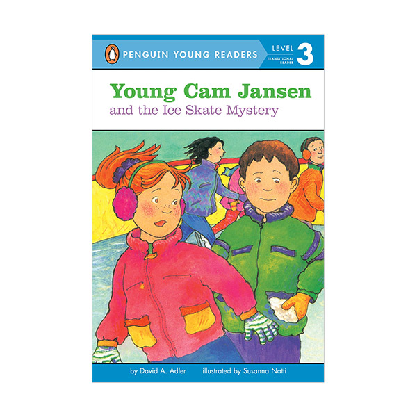 RL 2.5 : Penguin Young Reader 3 : Young Cam Jansen and the Ice Skate Mystery (Paperback)