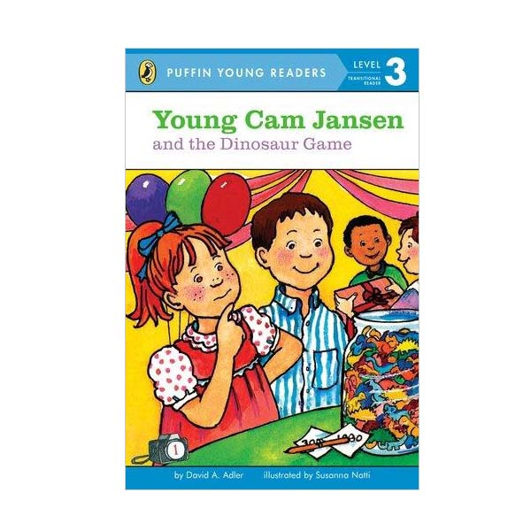 RL 2.5 : Puffin Young Readers Level 3 #1. Young Cam Jansen and the Dinosaur Game (Paperback)