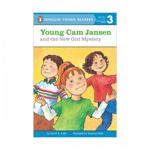 RL 2.5 : Puffin Young Readers Level 3 : #10. Young Cam Jansen And The New Girl Mystery (Paperback)
