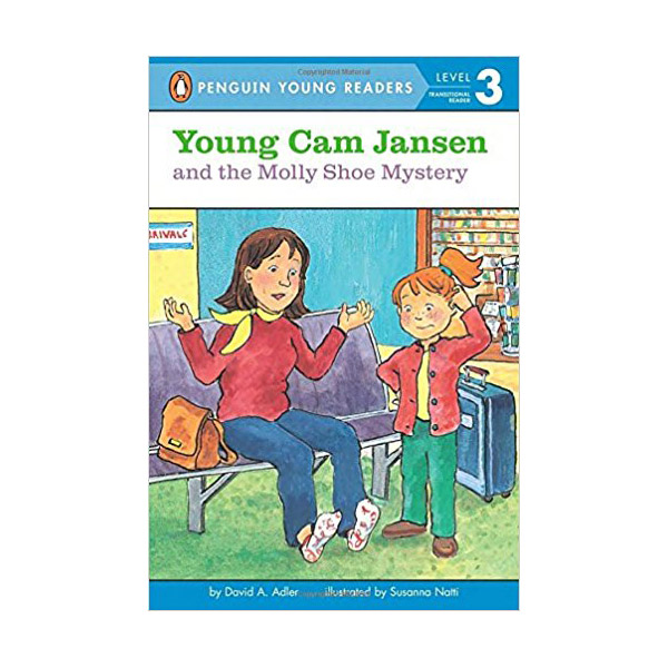 RL 2.5 : Puffin Young Readers Level 3 : Young Cam Jansen Series #14 : Young Cam Jansen and the Molly Shoe Mystery (Paperback)