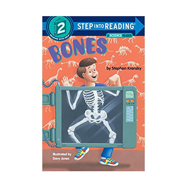 RL 2.5 : Step Into Reading 2 : Bones (Paperback)