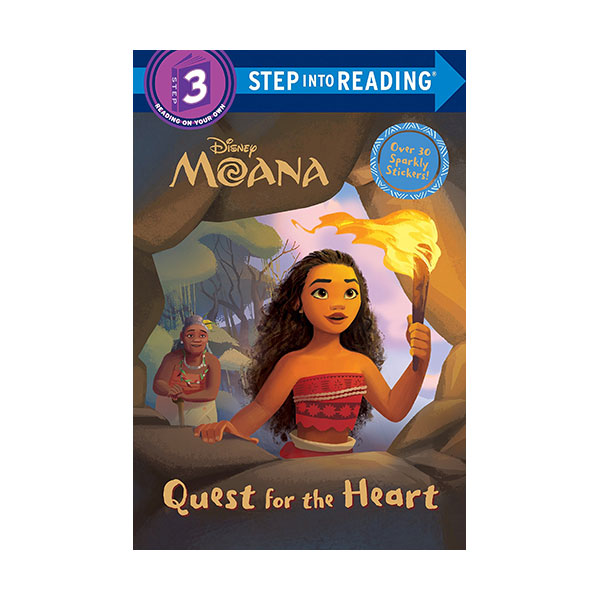 Step into Reading 3 : Disney Moana Quest for the Heart (Paperback)