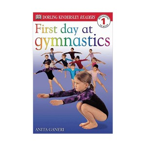 RL 2.6 : DK Readers Level 1: First Day at Gymnastics (Paperback)