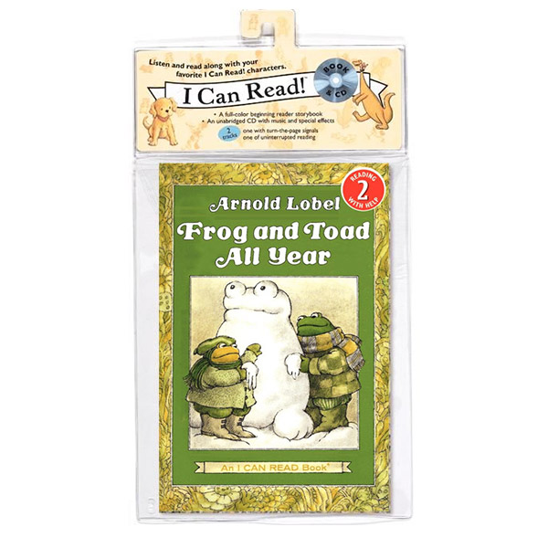 I Can Read 2 : Frog and Toad All Year (Book&CD)