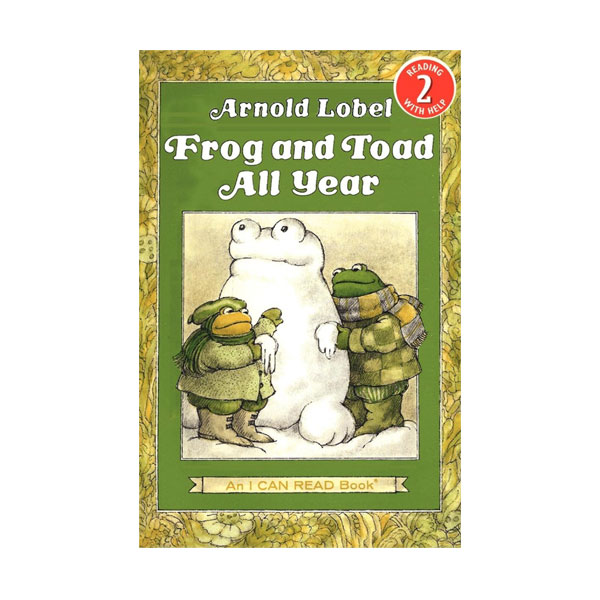 RL 2.6 : I Can Read Book Level 2: Frog and Toad All Year (Paperback)