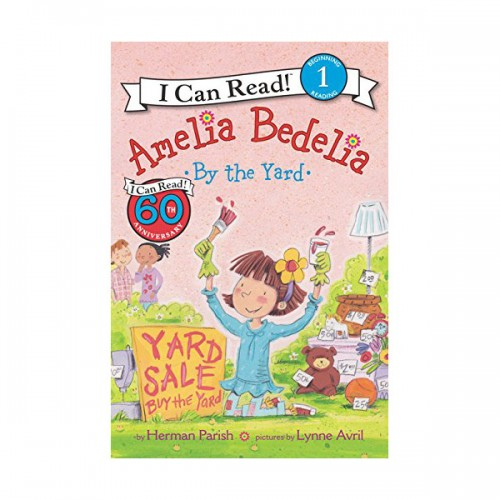 RL 2.6 : I Can Read Level 1 : Amelia Bedelia by the Yard (Paperback)