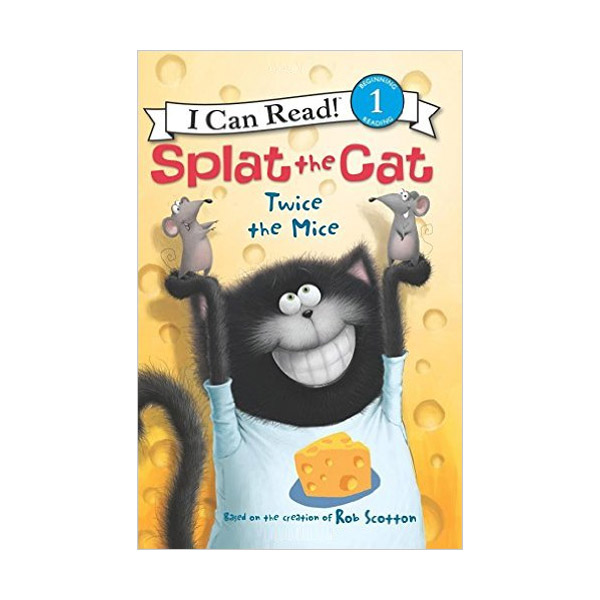 RL 2.6 : I Can Read Level 1 : Splat the Cat : Twice the Mice (Paperback)