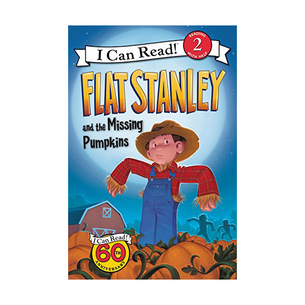 RL 2.6 : I Can Read Level 2 : Flat Stanley and the Missing Pumpkins (Paperback)