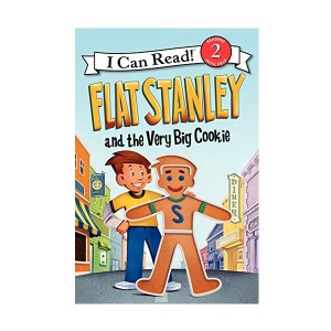 RL 2.6 : I Can Read Level 2 : Flat Stanley and the Very Big Cookie (Paperback)