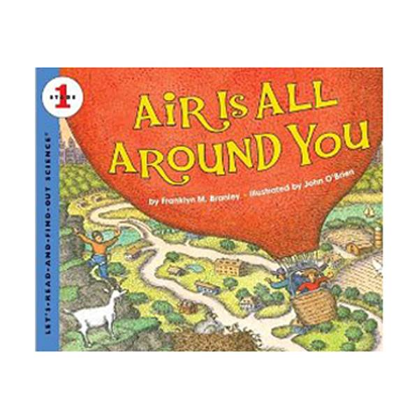 Let's Read And Find Out Science Level1 : Air Is All Around You (Paperback)