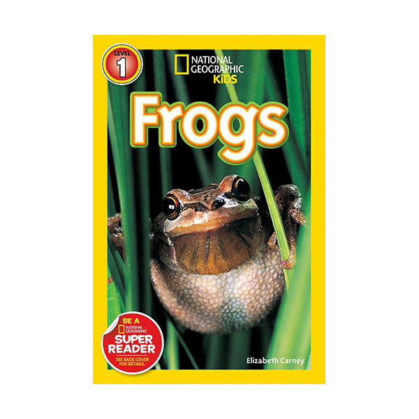 RL 2.6 : National Geographic Kids Readers Level 1 : Frogs! (Paperback)