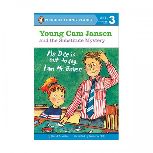 RL 2.6 : Puffin Young Readers Level 3 : Young Cam Jansen #11 : Young Cam Jansen and the Substitute Mystery (Paperback)