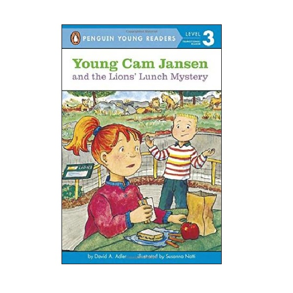 RL 2.6 : Puffin Young Readers Level 3 : Young Cam Jansen #13 : Young Cam Jansen and the Lions' Lunch Mystery (Paperback)