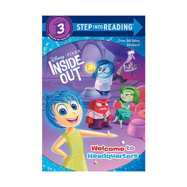 RL 2.6 : Step into Reading 3 : Disney Pixar Inside Out : Welcome to Headquarters (Paperback)