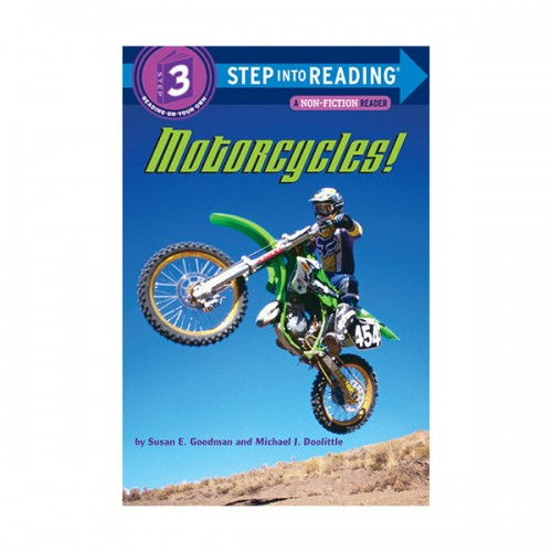Step Into Reading 3 : Motorcycles! (Paperback)