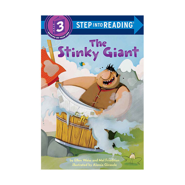 Step into Reading 3단계 : The Stinky Giant (Paperback)