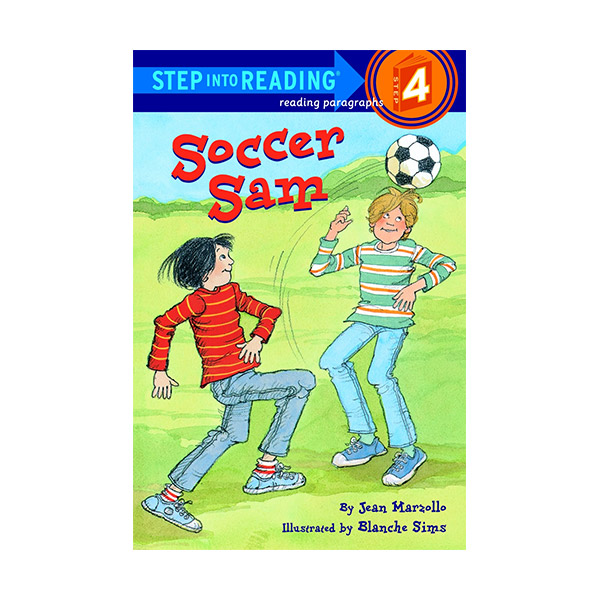 RL 2.6 : Step Into Reading 4 : Soccer Sam (Paperback)