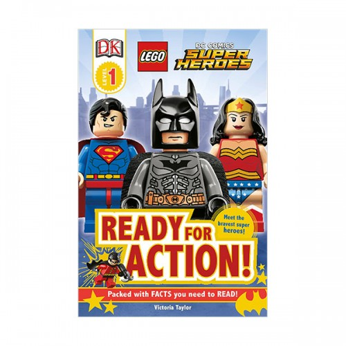 DK Readers Level 1 : LEGO Dc Super Heroes : Ready for Action! (Paperback)