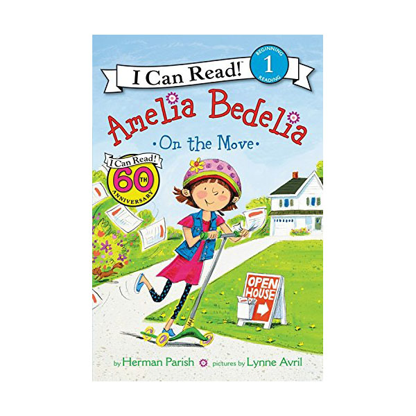 RL 2.7 : I Can Read Book 1 : Amelia Bedelia on the Move (Paperback)
