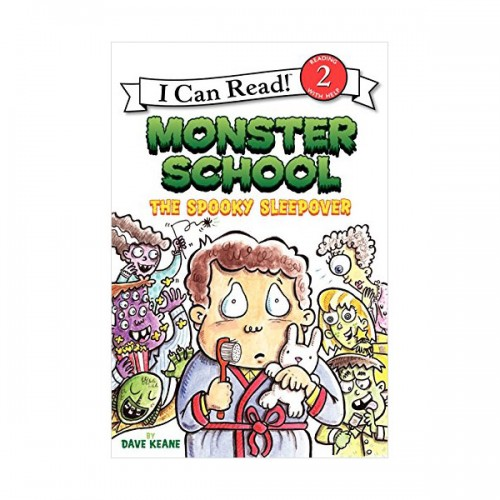 RL 2.7 : I Can Read Book Level 2 : Monster School : The Spooky Sleepover (Paperback)