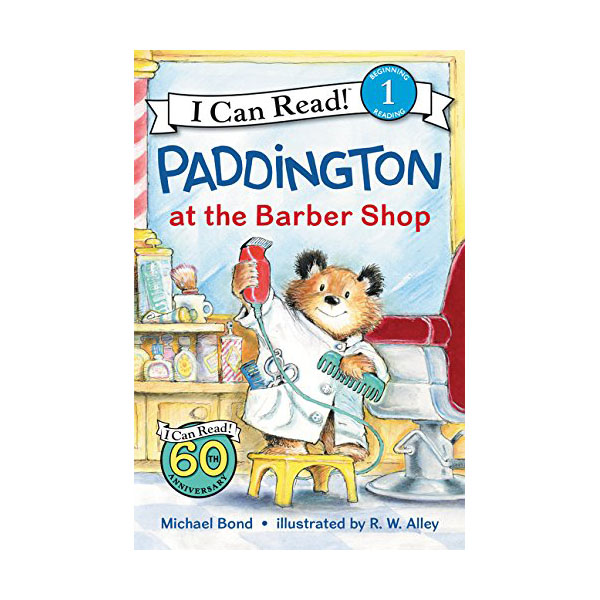 RL 2.7 : I Can Read Level 1 : Paddington at the Barber Shop (Paperback)