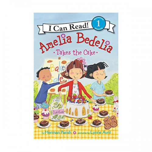 RL 2.7 : I Can Read Level 1 :Amelia Bedelia Takes the Cake(Paperback)