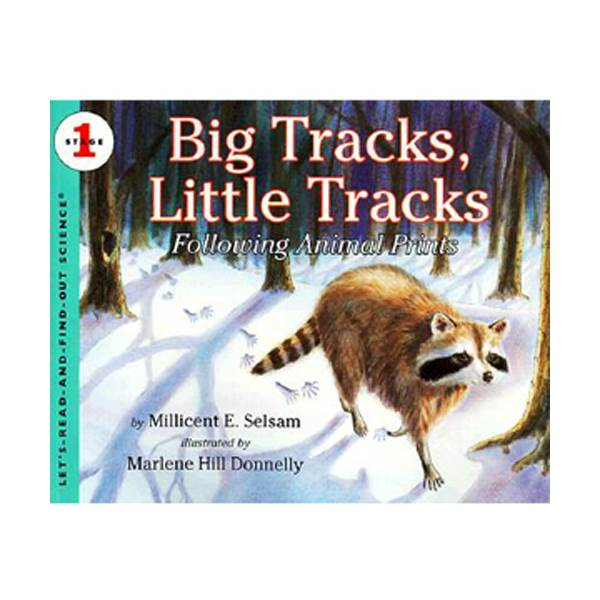 Let's Read And Find Out Science Level 1 : Big Tracks, Little Tracks (Paperback)