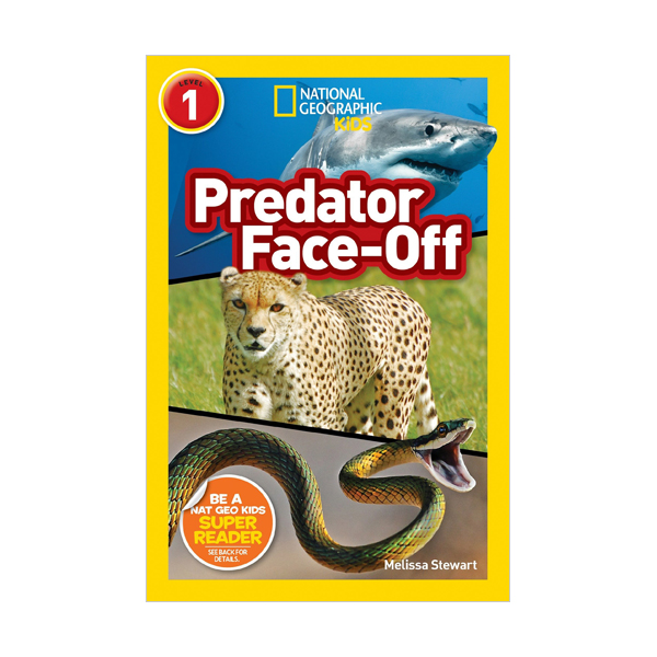 RL 2.7 : National Geographic Readers 1 : Predator Face-Off (Paperback)