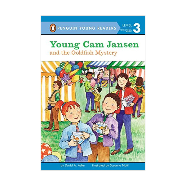 RL 2.7 : Penguin Young Readers Level 3 : #19. Young Cam Jansen and the Goldfish Mystery (Paperback)
