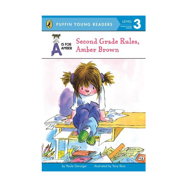RL 2.7 : Puffin Young Readers Level 3 : Second Grade Rules, Amber Brown (A Is for Amber) (Paperback)