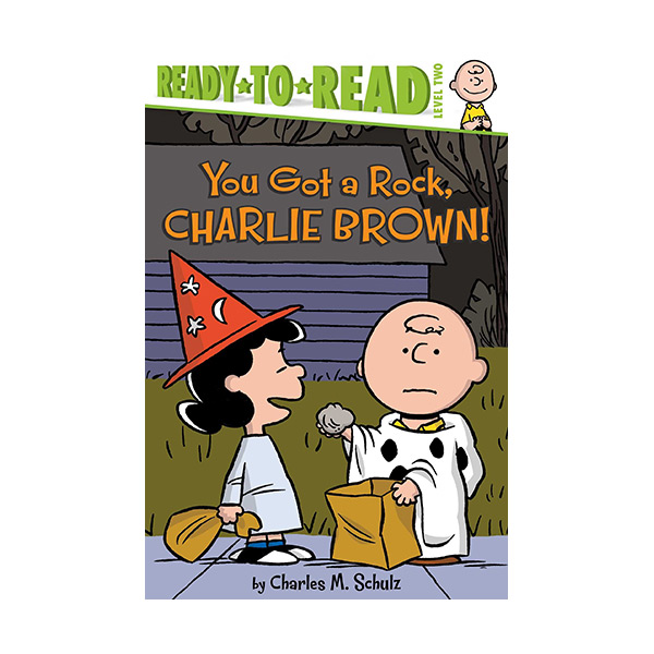 RL 2.7 : Ready to Read 2 : Peanuts : You Got a Rock, Charlie Brown! (Paperback)