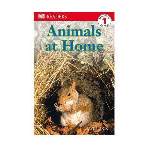 RL 2.8 : DK Readers Level 1: Animals at Home (Paperback)