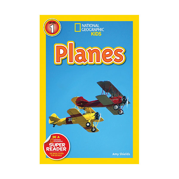 RL 2.8 : National Geographic Kids Readers Level 1 : Planes (Paperback)