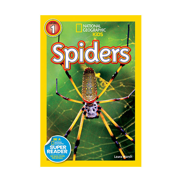 RL 2.8 : National Geographic Kids Readers Level 1 : Spiders (Paperback)