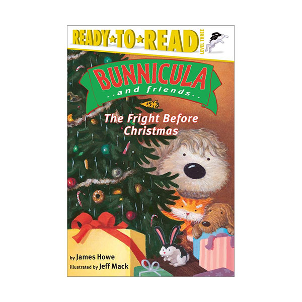 RL 2.8 : Ready to Read Level 3 : Bunnicula and Friends Series : The Fright Before Christmas (Paperback)