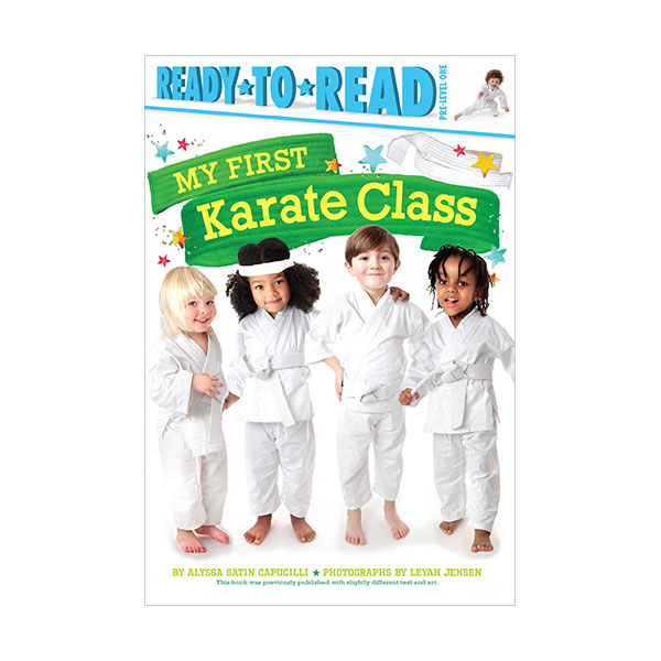 RL 2.8 : Ready to Read Pre : My First Karate Class (Paperback)
