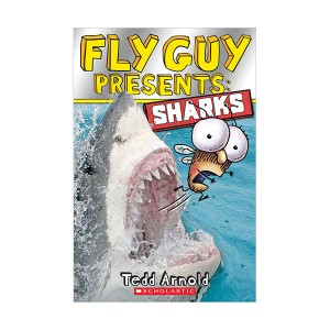 Scholastic Reader Level 2 : Fly Guy Presents : Sharks (Paperback)