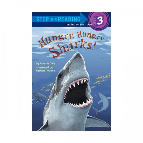 Step Into Reading 3 : Hungry, Hungry Sharks (Paperback)