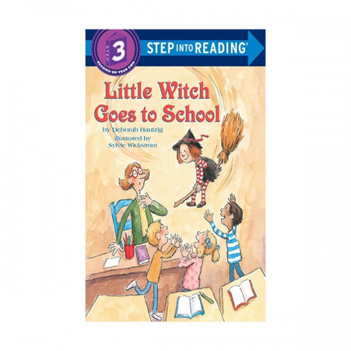 Step Into Reading 3 : Little Witch Goes to School (Paperback)