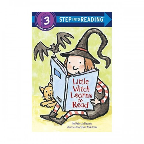 Step Into Reading 3 : Little Witch Learns to Read (Paperback)