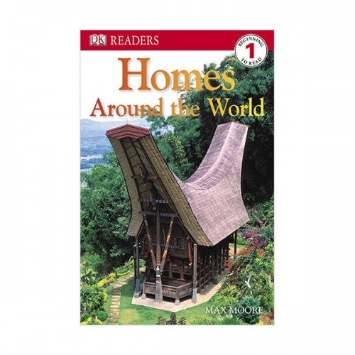 DK Readers Level 1: Homes Around the World (Paperback)