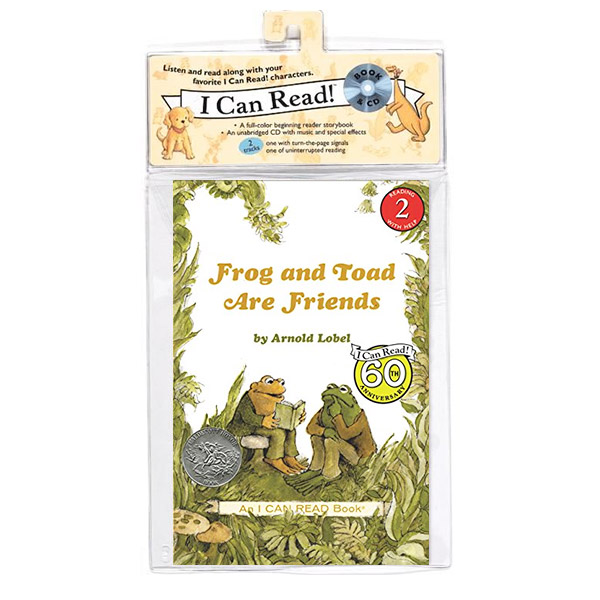 I Can Read 2 : Frog and Toad Are Friends : 개구리와 두꺼비는 친구 (Paper back & CD)