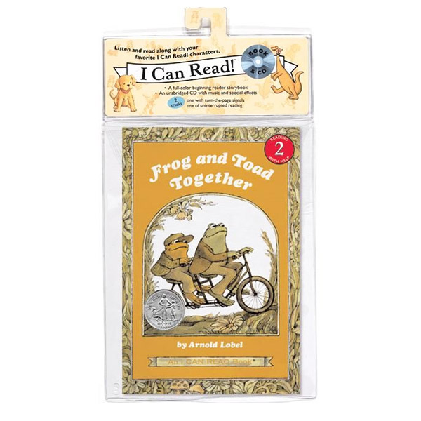 I Can Read 2 : Frog and Toad Together (Book&CD)