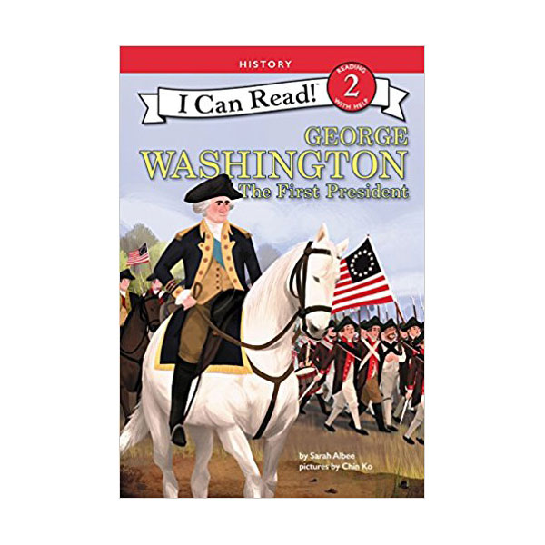RL 2.9 : I Can Read Book Level 2: George Washington: The First President (Paperback)