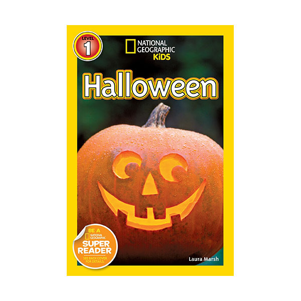 RL 2.9 : National Geographic Kids Readers Level 1 : Halloween (Paperback)