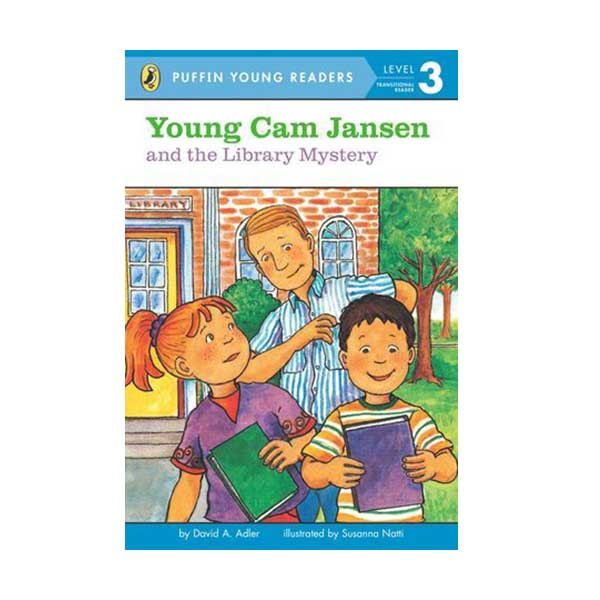 RL 2.9 : Puffin Young Readers Level 3 : Young Cam Jansen Series #7 : Young Cam Jansen and the Library Mystery (Paperback)