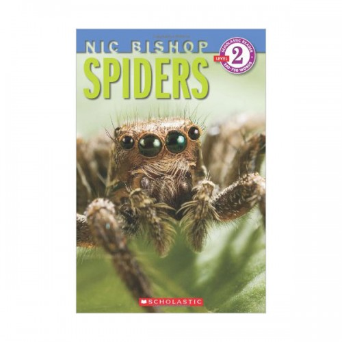 RL 2.9 : Scholastic Reader Level 2: Spiders (Paperback)