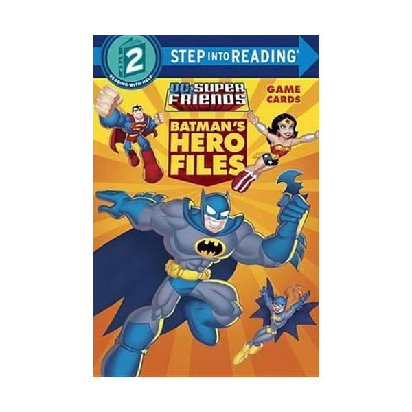 RL 2.9 : Step into Reading 2 : DC Super Friends : Batman's Hero Files (Paperback)