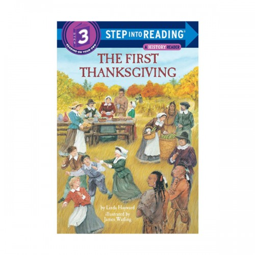 Step Into Reading 3 : The First Thanksgiving (Paperback)
