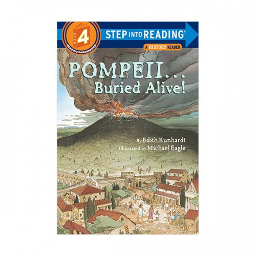 RL 2.9 : Step Into Reading 4 : Pompeii ... Buried Alive! (Paperback)